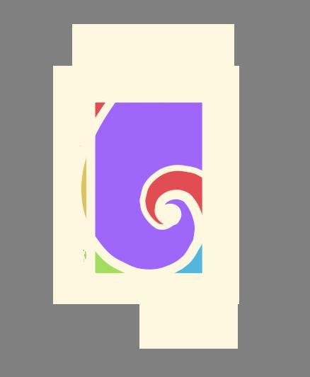 tarot convergente logo en color amarillito